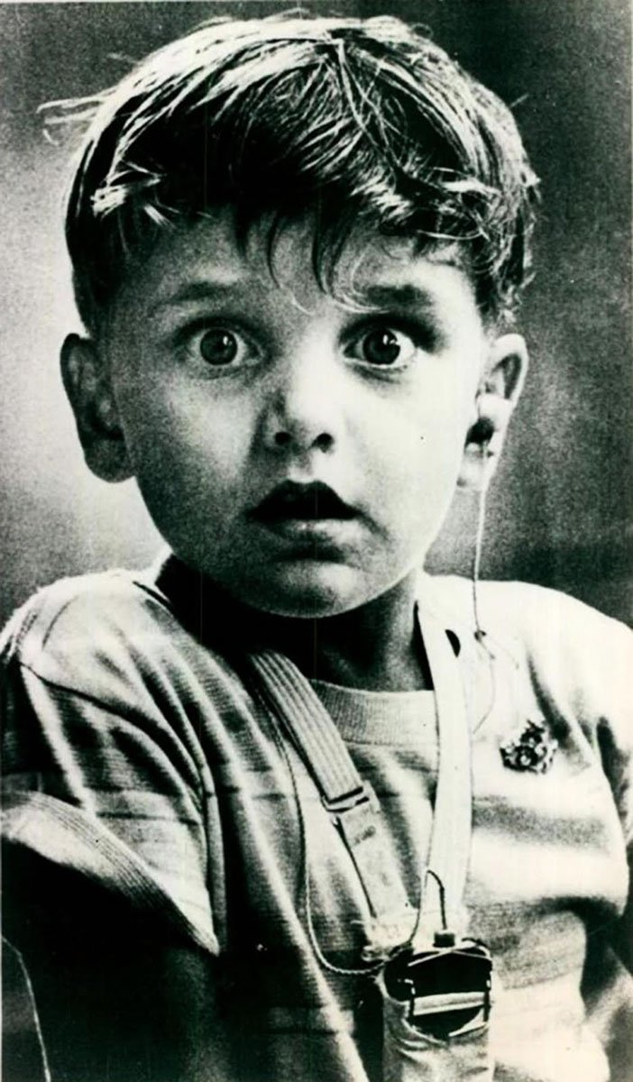 Harold Whittles hearing sound for the first time 1979