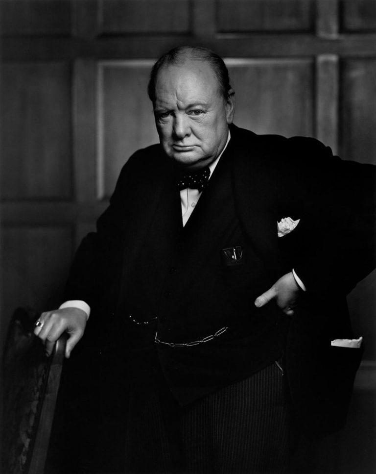 Yousuf Karsh Winston Churchill 1941